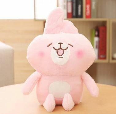 美麗大街【HB107031204】卡娜赫拉玩偶小動物小鳥小兔子毛絨公仔(40cm)
