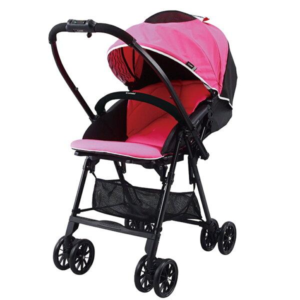 【麗嬰房】CombiNeyo輕量雙向嬰兒手推車-熱情紅