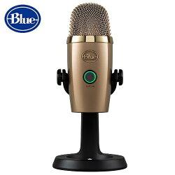 美國BLUE YETI Nano小雪怪USB麥克風【古巴金】全產品享兩年公司保固  電競◆錄音◆練唱 專業級首選