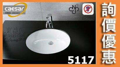 【東益氏】CAESAR凱撒L5117/B210C正字標記抗污加深檯面盆台面盆洗臉盆售電光牌歡迎詢價