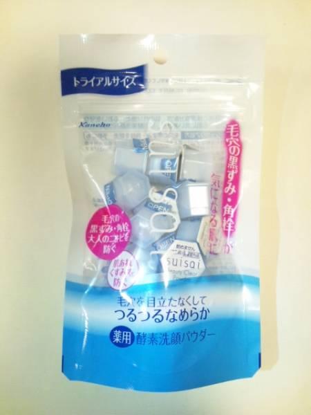 日本 Kanebo suisai 酵素洗顏粉(藍) 0.4g 15顆/包 *夏日微風*
