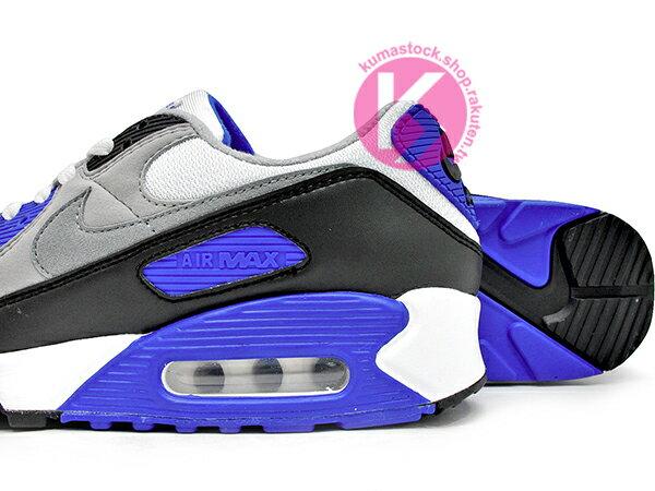 2020 經典復刻慢跑鞋 OG 版型 NIKE AIR MAX 90 白灰黑 寶藍 網布 絨毛面 大氣墊 慢跑鞋 (CD0881-102) 0120 3