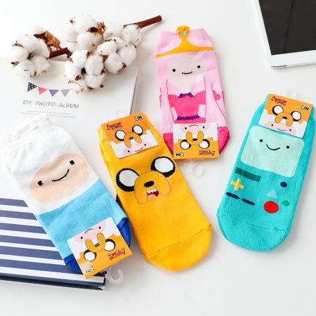韓國 探險活寶短襪 四分襪 造型襪 流行襪 短襪 阿寶 老皮 泡泡糖公主 嗶莫【B063138】