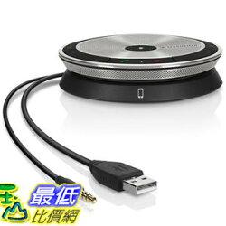 [107美國直購] Sennheiser SP 20 ML 會議電話揚聲器(微軟Skype for Business)  SP20 ML USB Mobile Speakerphone