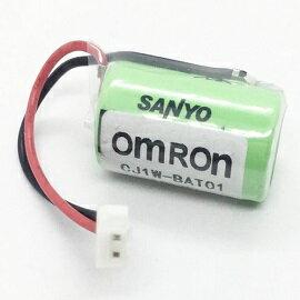 CJ1W-BAT01(CR14250SE-R) 3V 1200mAh 帶2P白色接頭 OMRON CP1H CP1E系列用電池(含稅)【佑齊企業 iCmore】