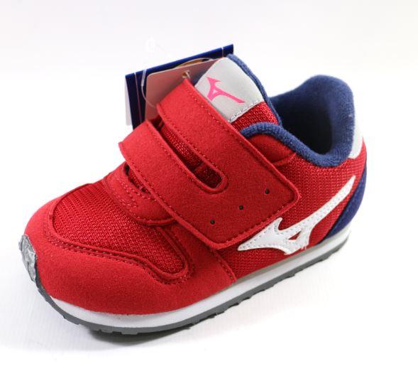 [陽光樂活] MIZUNO 美津濃 幼兒鞋 TINY RUNNER 4 - K1GD163261 蘋果紅