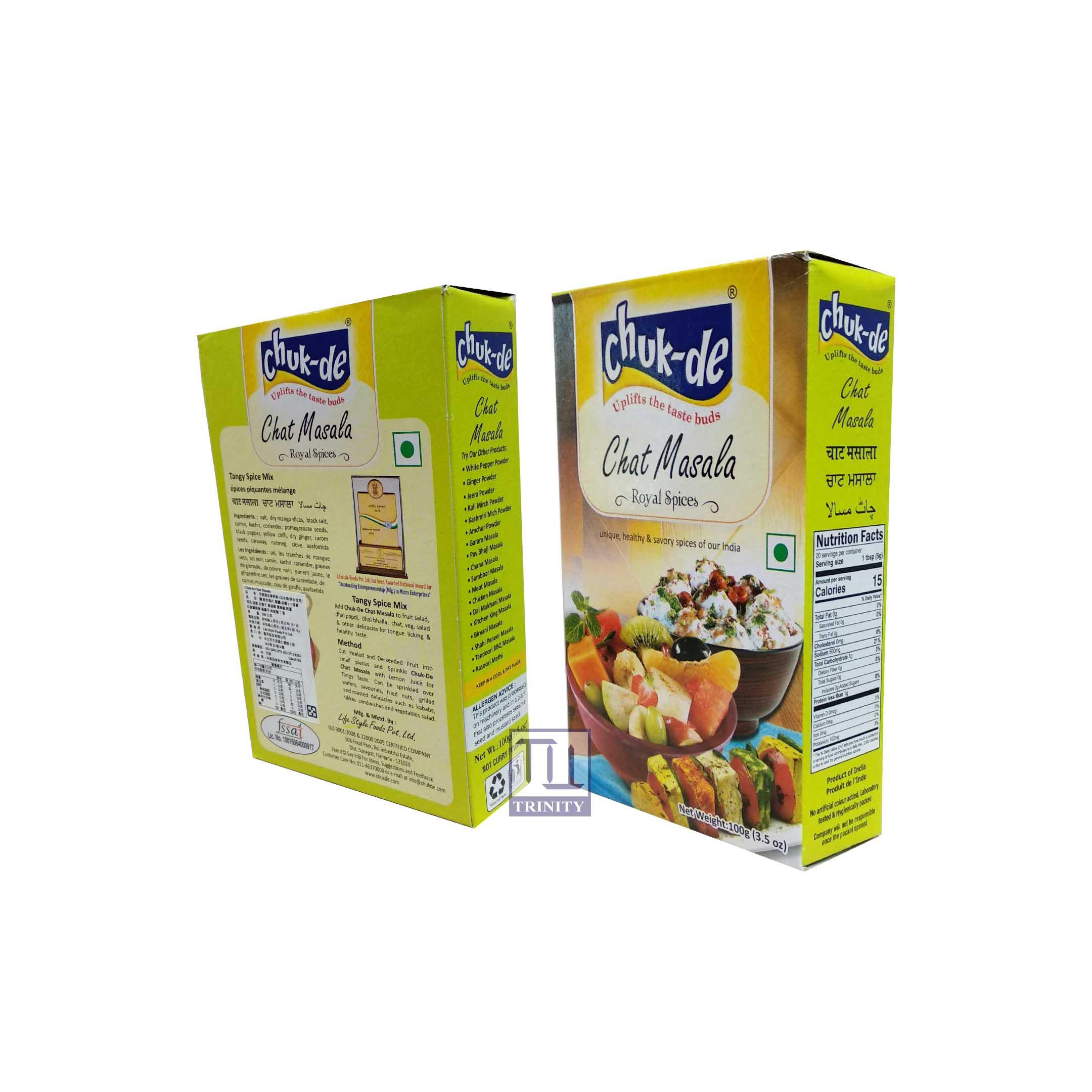 Chat Masala 印度混合香料粉 (沾水果/拌沙拉用)