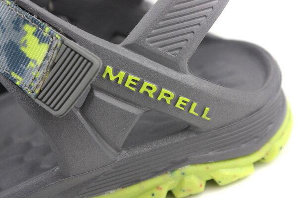MERRELL 涼鞋 灰色 中童 no052 2