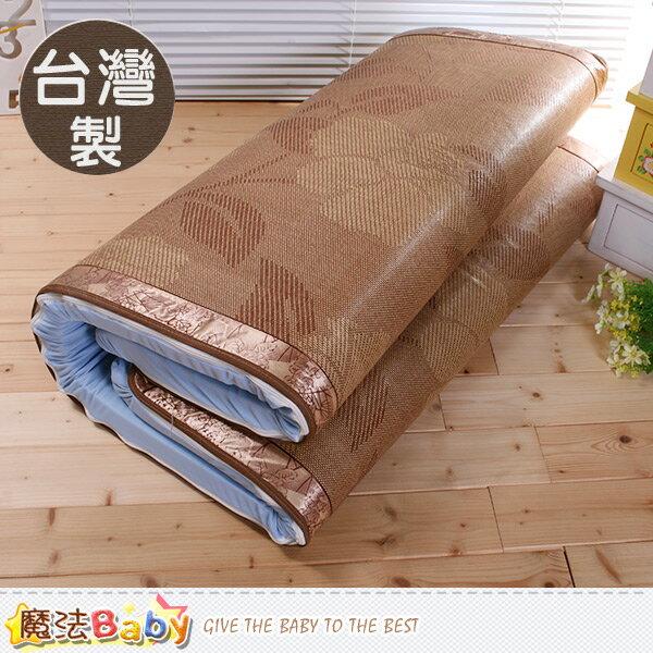 記憶床墊 台灣製5cm竹炭記憶床墊亞滕蓆面 雙人5x6.2尺 魔法Baby~u3604