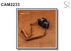 [滿3千,10%點數回饋]【Cam.in】潮流相機背帶 型號:CAM2233  顏色:棕色
