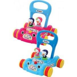 PUKU藍色企鵝 - 助步車 (水藍/粉紅) 0
