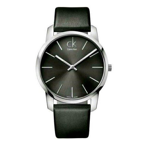 CK CITY(K2G21107)城市經典簡約腕錶/黑面43mm