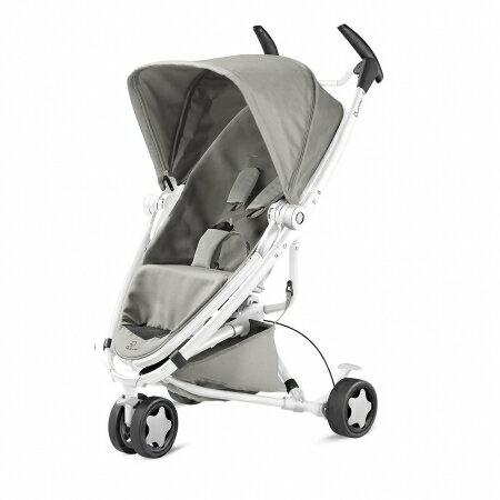 【淘氣寶寶】Quinny ZAPP xtra2 Pure 嬰兒手推車【白管支架灰】【保證公司貨●品質有保證●非水貨】