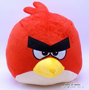 【UNIPRO】憤怒鳥AngryBirds銳德Red27公分圓球娃娃玩偶抱枕