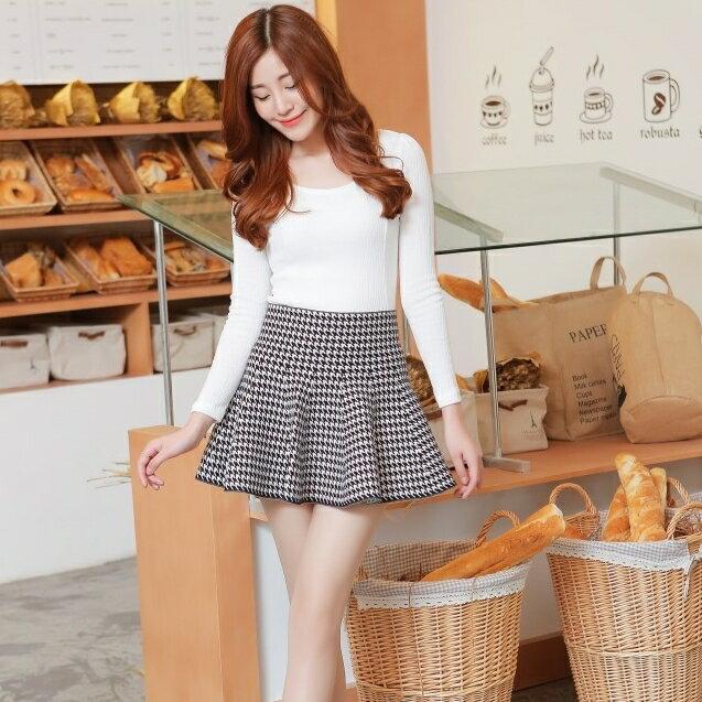 OL款 針織 千鳥格紋裙 cpshirt gp10