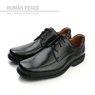Clarks Gatewood Over 真皮皮革 舒適 柔軟 氣墊 抗震 上班族 皮鞋 戶外休閒鞋 黑 男款 no626