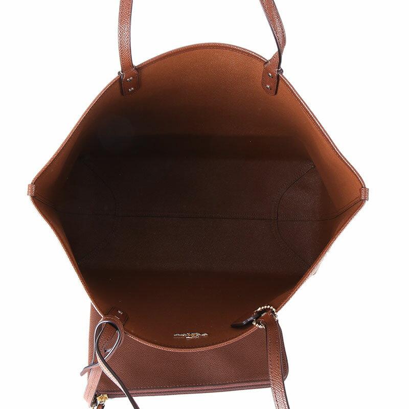 COACH   F36658 女士女包PVC配皮單肩手提包托特包TOTE大號 2