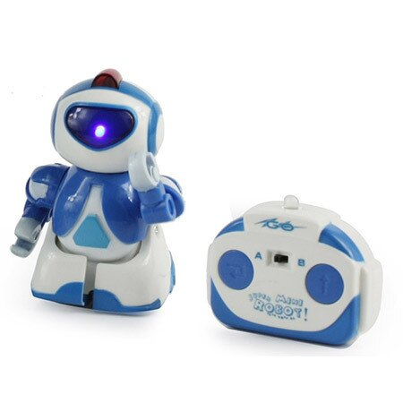 Microgear RC Mini IBOT Robot Voice Active, Music, Flashing BX299 - Red Free Shipping 1