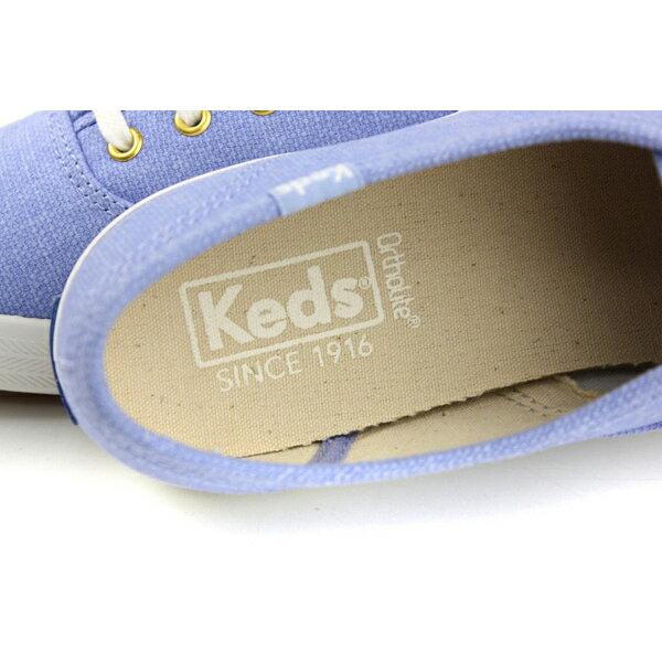 Keds CHAMPION CHALKY CANVAS 帆布鞋 粉藍 女鞋 9182W122460 no286 6