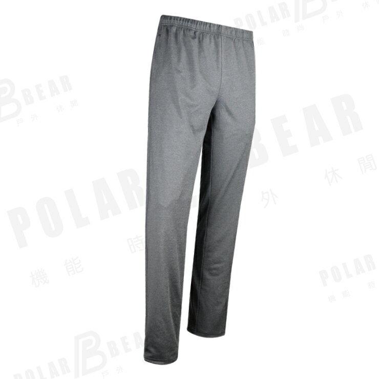 【POLAR BEAR】彈性吸濕排汗雲彩中性長褲-17P24