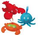 【美國ALEX】寶寶沐浴玩偶-螃蟹