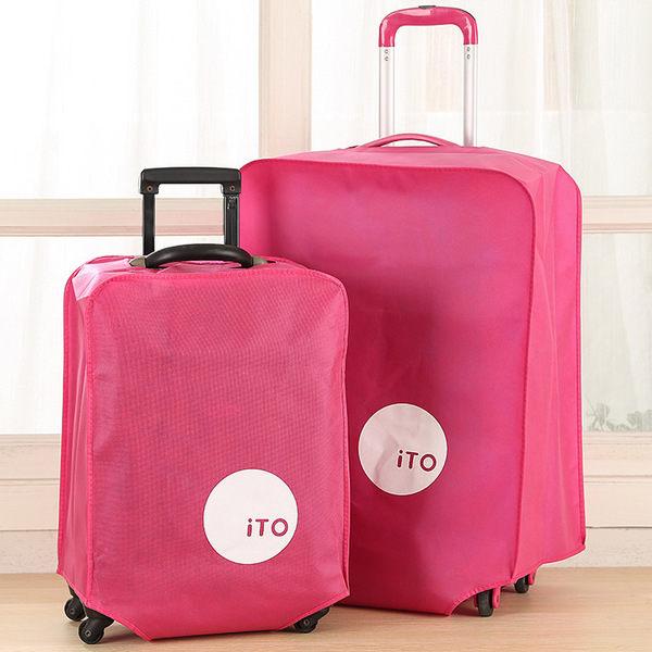 ♚MY COLOR♚加厚防水無紡布拉杆箱套 旅行箱保護套 行李箱防塵套 防潮耐磨 防塵罩 24吋【N23】