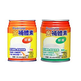 金補體素 好纖 專業液態營養品 清甜/不甜 24罐/箱 加贈4罐◆德瑞健康家◆