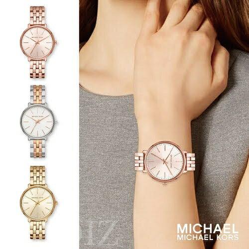 預購 美國正品 Michael Kors 微晶鑽時尚手錶 Gold-Tone Watch MK3897 MK3898 MK3901
