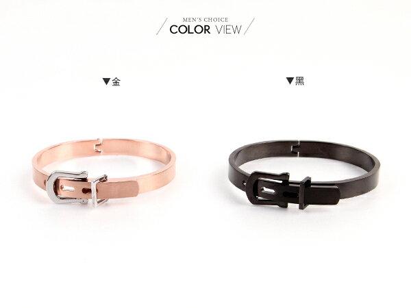 ☆BOY-2☆【NG084】情人節手環   質感皮帶造型情侶手環 1