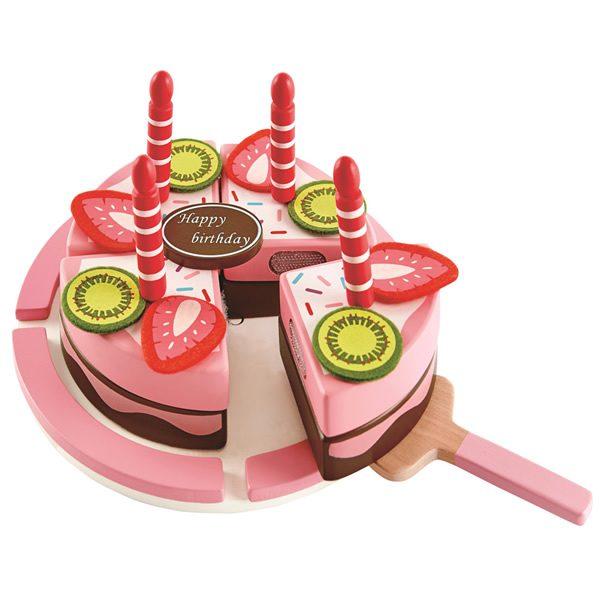 【淘氣寶寶】【2016新品上市】德國 愛傑卡 Hape 生日蛋糕