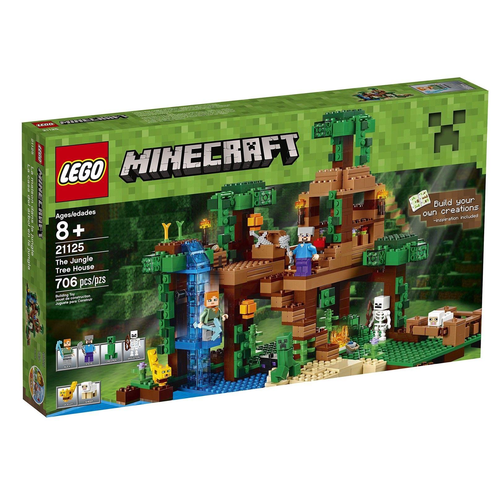 【瞎買天堂x現貨免運】樂高 LEGO 創世神 Minecraft 21125【TYLEMC02】