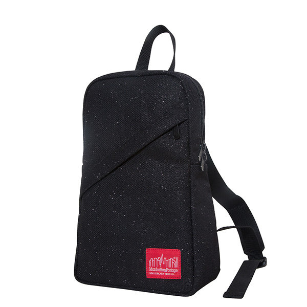 【EST】Manhattan Portage Midnight Ellis Backpack With Zipper 星夜 埃利斯 後背包 黑 [MP-1907-MDZ-BLK] H1101