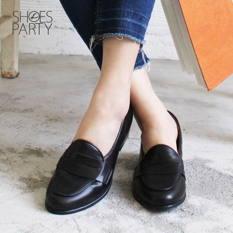 【P2-18113L】我的腳變小了!經典真皮樂福鞋Shoes Party 4