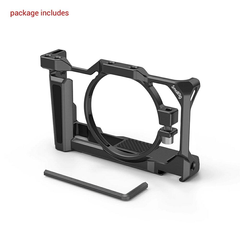 ..  SmallRig 2938 Cage 鋁合金外框 for Sony ZV-1 ZV1 兔籠 錄影用支架 散熱 Arca-Swiss 公司貨