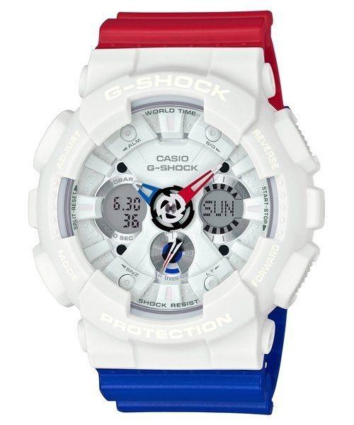 【時光鐘錶】G-SHOCK CASIO GA-120TRM-7A 卡西歐 防水 運動 鋼彈 錶
