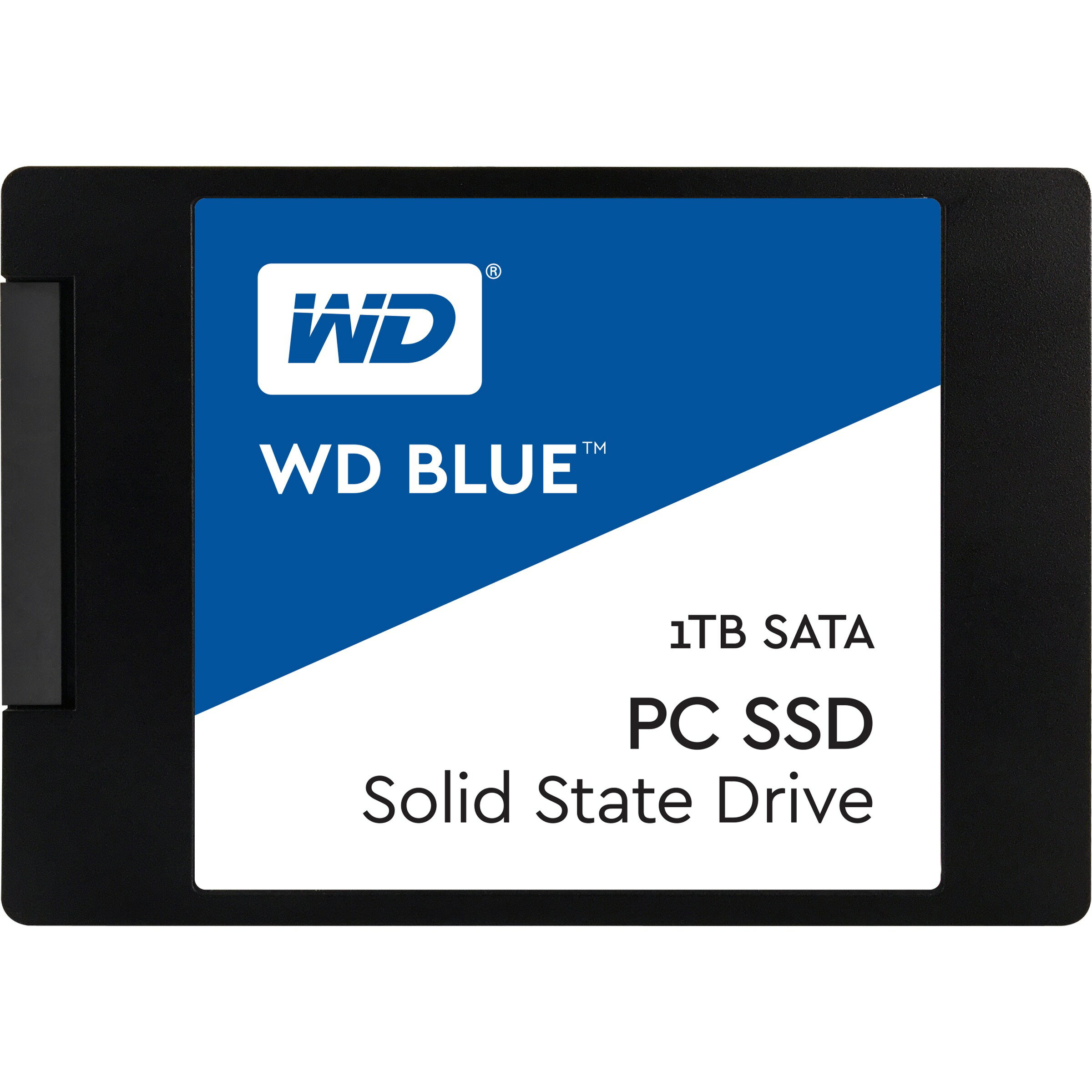 "WD Blue SSD 1TB 2.5"" 1.0TB SATA III 6Gb/s 7mm Western Digital PC Internal Solid State Drive 545MB/s Maximum Read Transfer Rate 525MB/s Maximum Write Transfer Rate WDS100T1B0A 0"