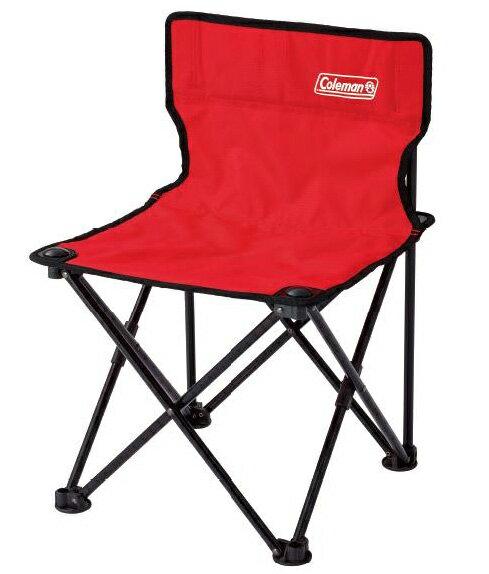 【鄉野情戶外用品店】 Coleman |美國| 吸震摺椅/露營折疊椅 戶外椅 兒童椅 折椅-紅/CM-26845M000