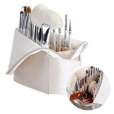 瑪姬化妝刷具 新款18隻動物毛羊毛刷具套組 可選擇常規刷包/直立刷包