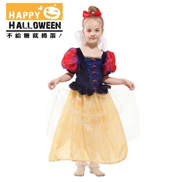【派對造型服道具】萬聖節裝扮-優雅雪白公主(M號)GTH-1429