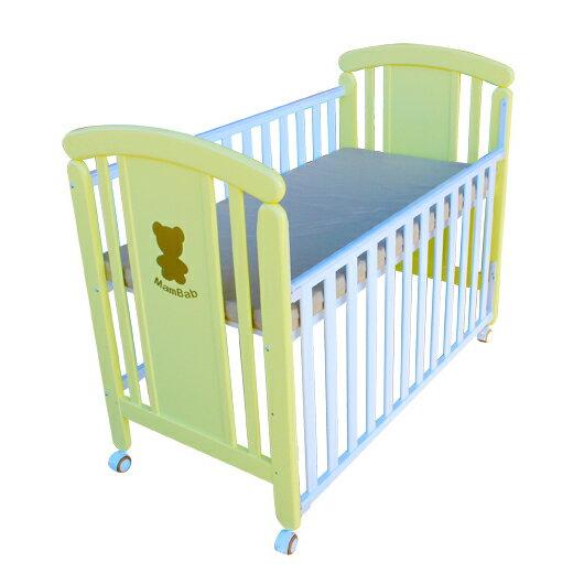 Mam Bab夢貝比 - 親親熊嬰兒床 台規中床 + 蝴蝶寢具八件組 加贈3D透氣床墊! 4