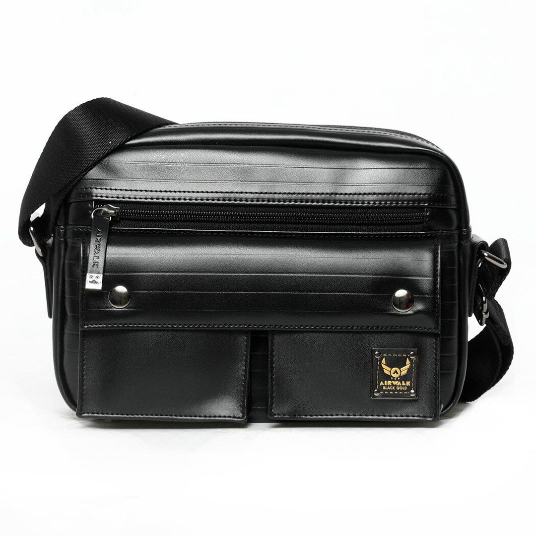 AIRWALK黑金系列-空降使者系列側背包