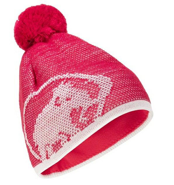 Mammut 長毛象 毛帽/登山保暖帽/滑雪帽 Snow Beanie 1191-00101 3579 火龍果/白