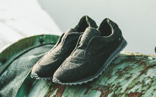 FINDSENSEMD日系高品質時尚潮男羊毛鞋面低幫休閒鞋板鞋