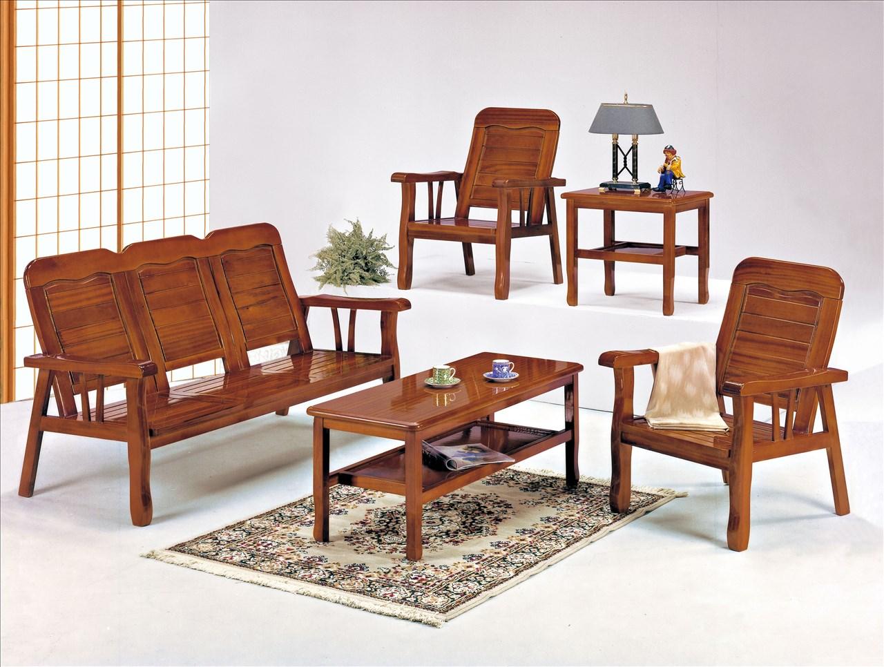 ~石川家居~EF~188~2 113型柚木色單人椅 ^(不含 ^) 需 車趟