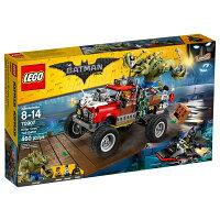 蝙蝠俠 玩具與電玩推薦到【LEGO 樂高積木】 Batman Movie 蝙蝠俠電影系列-殺手鱷的鱷霸卡車 LT-70907就在幼吾幼兒童百貨商城推薦蝙蝠俠 玩具與電玩