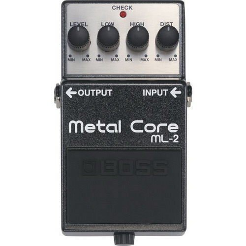 Boss ML-2 Metal Core 電吉他金屬破音單顆效果器(Nu Metal 必備 Boss 最重的破音)【唐尼樂器】