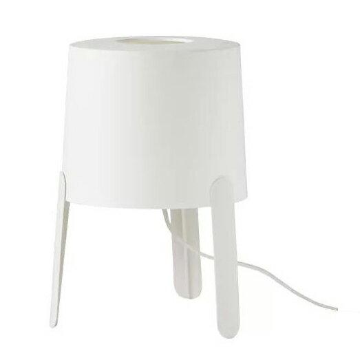 熊超人2 桌燈 白色 時尚質感 熱銷TVÄRS/ IKEA