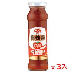愛之味甜辣醬160g*3入【愛買】