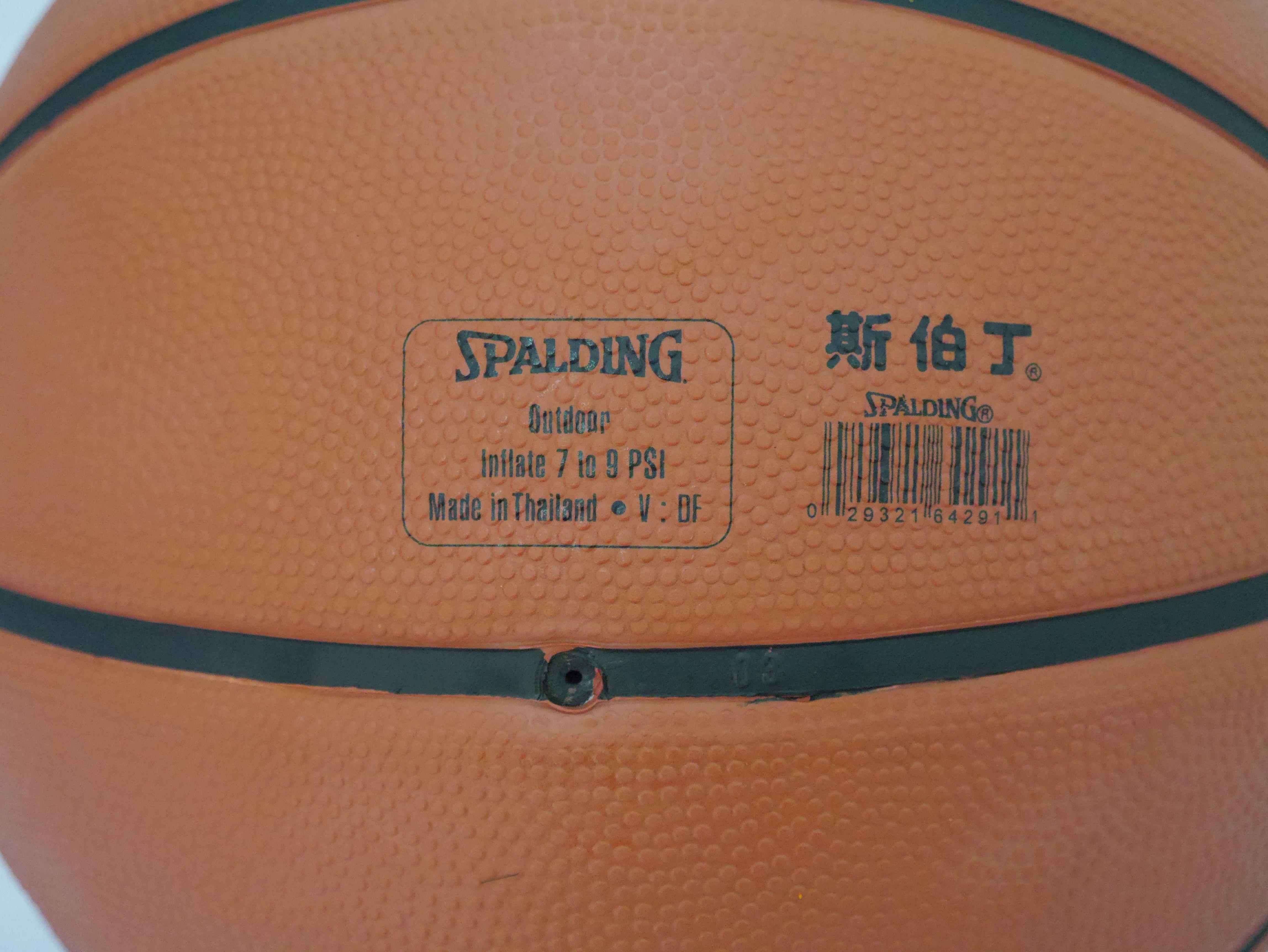 斯伯丁籃球SPALDING《outdoor基本款橘色【曉風】 2