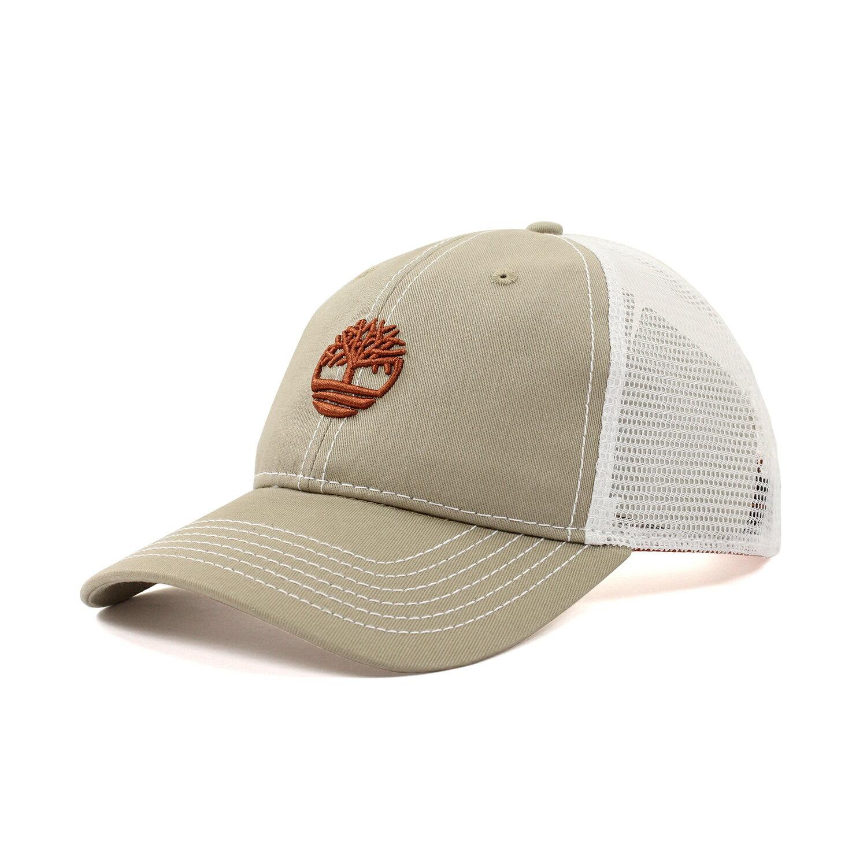 美國百分百【全新真品】Timberland 帽子 配件 棒球帽 網帽 男帽 遮陽帽 鴨舌帽 LOGO 卡其色 F295